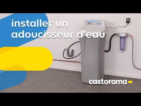 Installer un adoucisseur d'eau (Castorama)