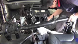 evaporator replacement VOLVO S60 蒸發器更換全紀錄(HD)