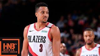 Portland Trail Blazers vs Charlotte Hornets Full Game Highlights | 01/11/2019 NBA Season