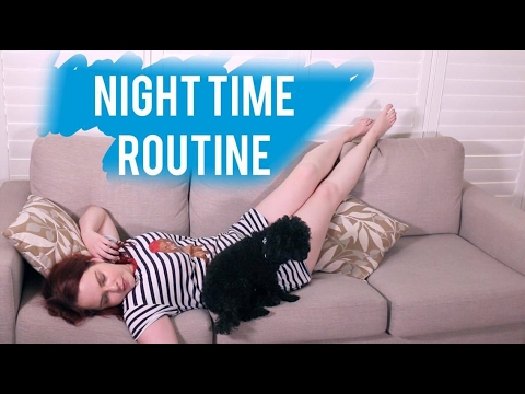 Night time routine with a chronic illness // Lauren Rowe