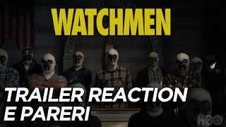 Watchmen - Trailer Reaction e pareri sulla serie tv di HBO