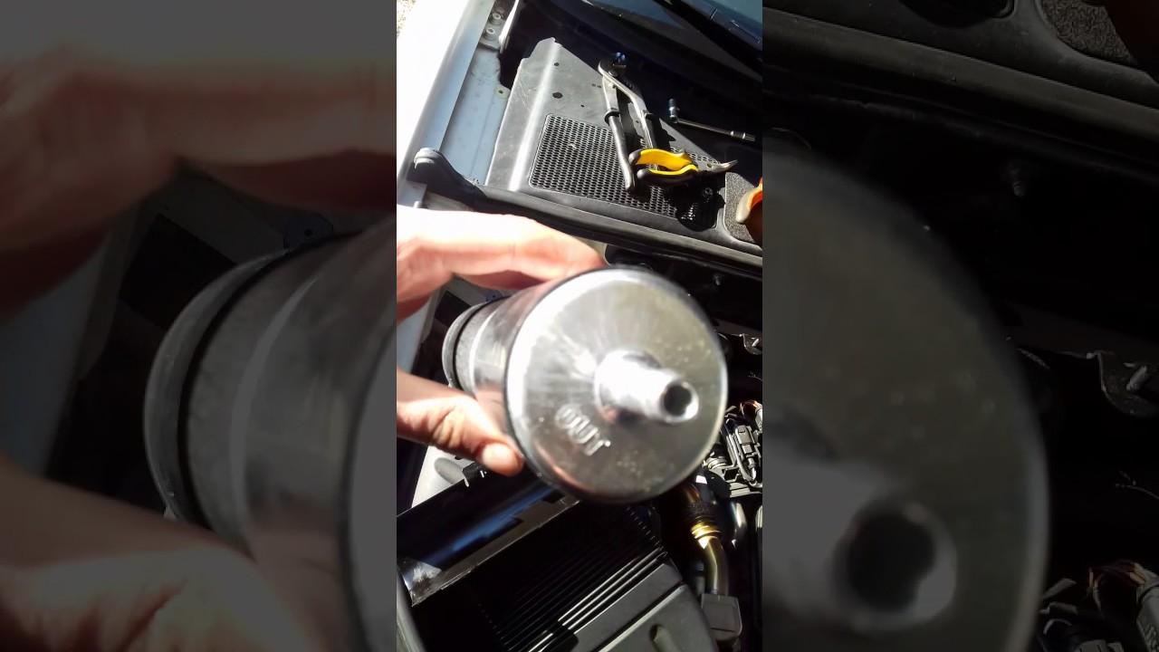 remplacement filtre  u00e0 gazole 2l tdi 143 cv 2009 seat exeo