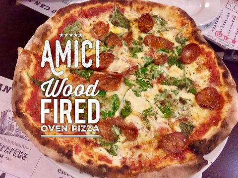 Amici Wood Fired Oven Pizza And Caramia Gelateria Don Bosco Makati By HourPhilippines.com