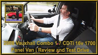 Review and Virtual Video Test Drive In Our Vauxhall Combo 1 7 CDTi 16v 1700 Panel Van 3dr