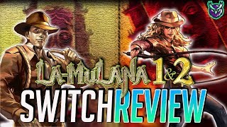 La-Mulana 1 & 2 Switch Review - Indiana Jones: The Game! (Video Game Video Review)