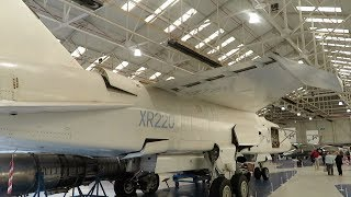 British Aircraft Corporation TSR2 at RAF Cosford Museum England - 2018