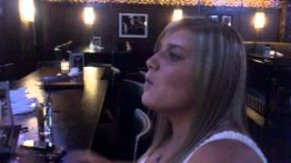 Drunk White Girl at Bar Louie Nashville TN