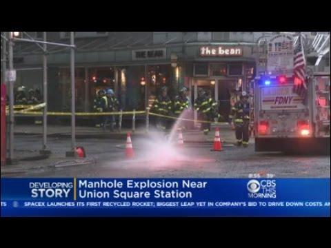 Manhole Explosion Near Union Square Station