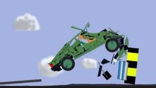 Crash in PHUN 3