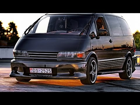 toyota previa tuning youtube. Black Bedroom Furniture Sets. Home Design Ideas