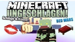 Küsse & Schläge Challenge! - Minecraft UNGESCHLAGEN #69 Bed Wars | ungespielt