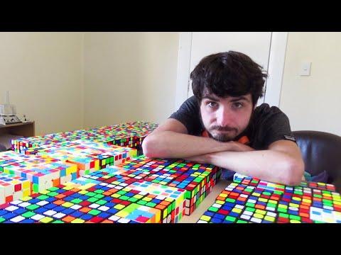 200-Cube Multiblind (162/200 in 11.5 hours)