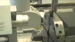 cnc turning machine with tool changing