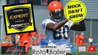 2018 Fantasy Football Mock Draft Episode