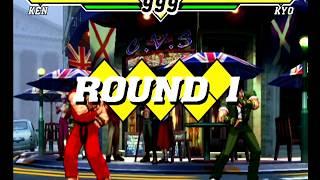 Capcom VS SNK 2 (Dreamcast) Arcade as Ken