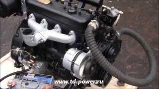 Дизельный двигатель QC485, 46 л.с.