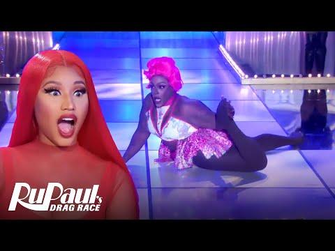 "Widow Von'Du & Gigi Goode's ""Starships"" Lip Sync | S12 E1 | RuPaul's Drag Race"
