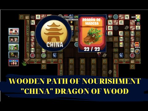 DIGGY'S ADVENTURE WOODEN PATH OF NOURISHMENT (CHINA DRAGON OF WOOD)