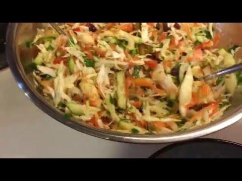 Вот это салат!!!Настоящая витаминная бомба с семенами льна!Cabbage salad loaded with vitamins