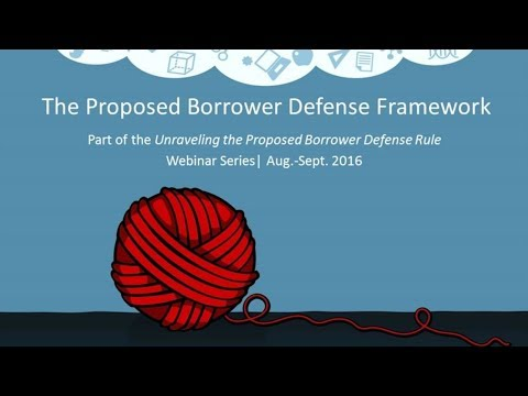 The Proposed Borrower Defense Framework