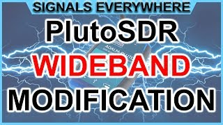 Adalm Pluto SDR Tutorial: 70Mhz to 6Ghz and Dual Core CPU Modification