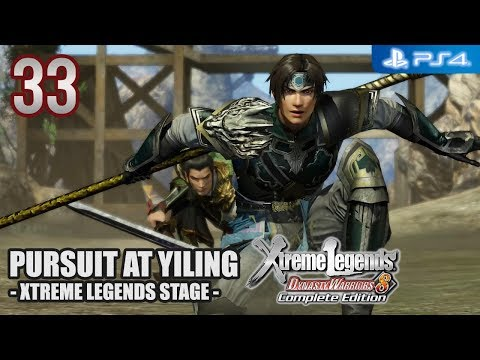 Dynasty Warriors 8 XL Complete Edition 【PS4】 Wu Story #33 │ Pursuit at Yiling (XL-Stage)