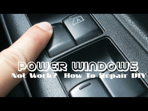An easy way to repair power windows that fails to work – simple &  save cost