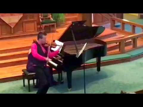 "Andrew Sords plays ""Tzigane"" (Ravel) - excerpt"