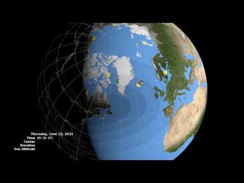 2021 Annular Solar Eclipse