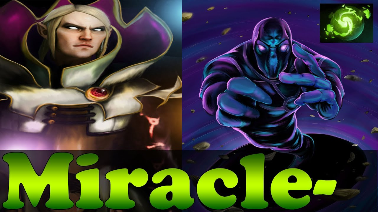 Miracle Plays Enigma And Invoker Dark Artistry Dota 2 Youtube