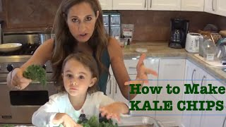 How To Make Kale Chips!