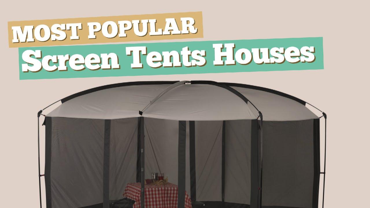 Screen Tents Houses // Most Popular & Screen Tents Houses // Most Popular - YouTube