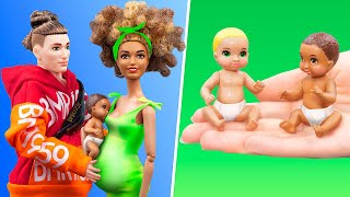 12 DIY Baby Doll Hacks and Crafts / Large Family Ideas
