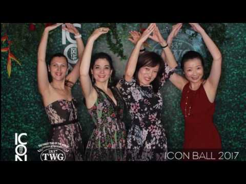 TWG Tea's best GIF moment captured at ICON Ball 2017