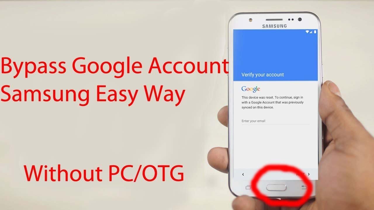 Bypass google account samsung J7, J6, J5, Prime, Pro New(100% working)