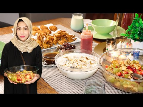 My Iftar Routine With Family In Canada | Ramadan Special By (HUMA IN THE KITCHEN)