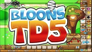BLOONS TOWER DEFENSE 5 - MOAB BALLOONS TERRIFY ME