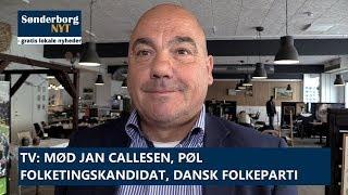 Mød Jan Callesen, Pøl, folketingskandidat, Dansk Folkeparti