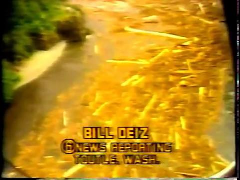 KOIN-TV Volcano Award Video and Live Coverage May 18, 1980
