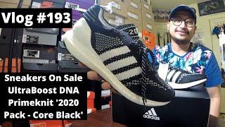 Vlog # 193 - SNEAKERS ON SALE // adidas UltraBoost DNA Primeknit '2020 Pack - Core Black'