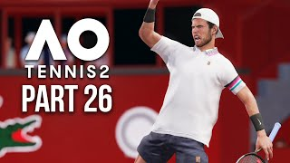 AO TENNIS 2 Career Mode Part 26 - TENNIS WORLD CUP