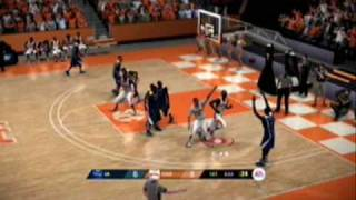 NCAA Basketball 09 Demo: Kentucky @ Tennessee