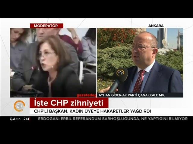 Ayhan Gider - Çanakkale Belediye Meclisindeki Olayları Değerlendiriyor