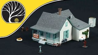 Country Cottage - Ho Scale - Pre-fab™ Building Kits | Woodland Scenics®