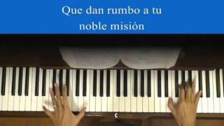 Panama National Anthem Piano Tutorial at Tempo
