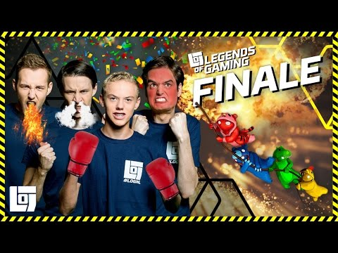 FINALE LEGENDS OF GAMING 2016-2017 | XL GANG BEASTS | LOGNL