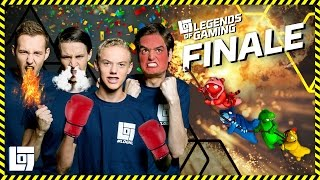 FINALE LEGENDS OF GAMING 2016-2017 | XL GANG BEASTS | LOGS1