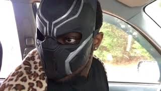 When your African dad is the Black Panther