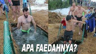 Waktunya mencoba nyebur di Musim Dingin #крещение