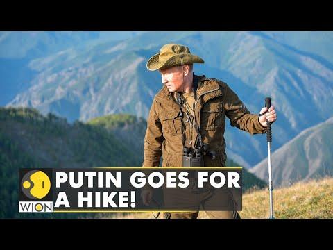 Kremlin releases pictures of Russian President Vladimir Puti